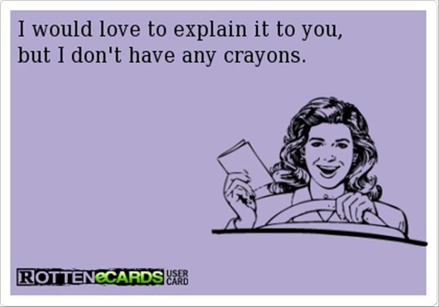 Crayon Rotten eCard