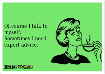 Talking to Myself eCard