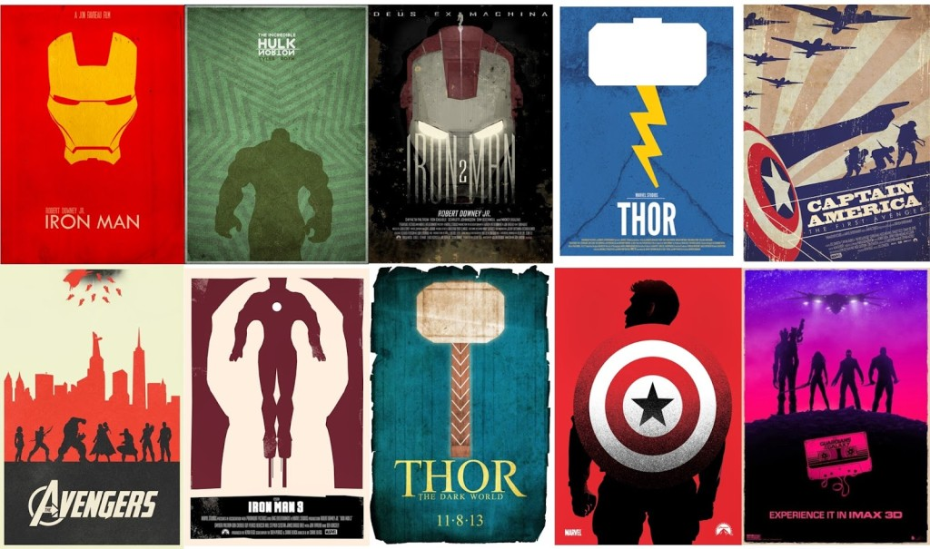 Marvel Movie Posters