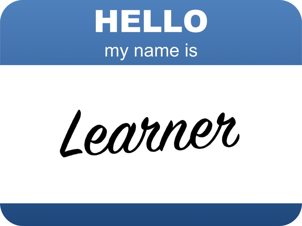 Hello, my name is Learner ...