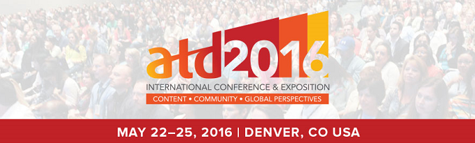 ATD 2016 Banner