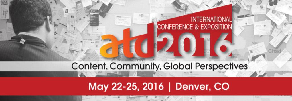 ATD 2016 Conference Header