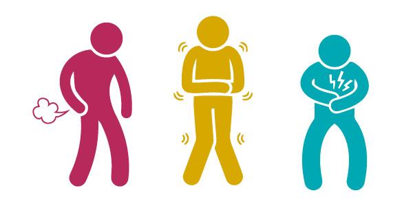 Health symptom icons