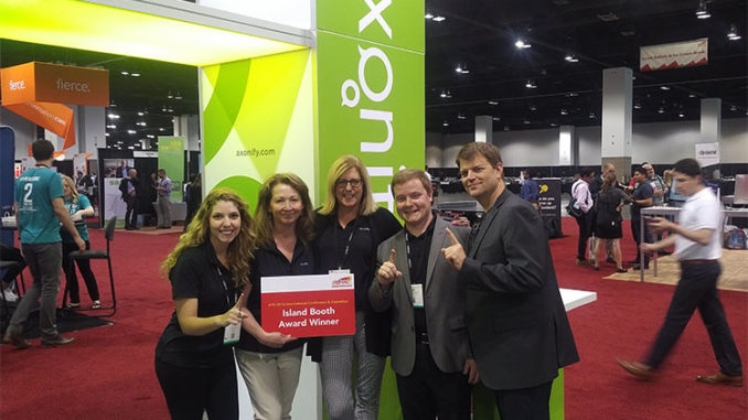 Axonify team at the ATD 2016 expo