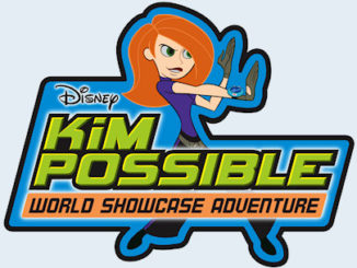 Kim Possible World Showcase Adventure Logo
