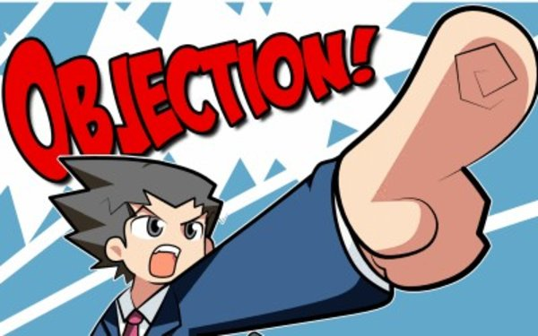 Objection finger point