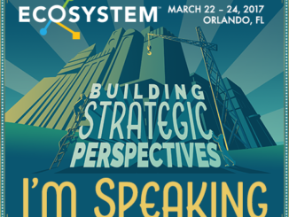 Badge for Ecosystem speakers