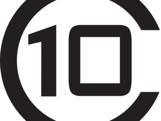 Number 10 within a C shape