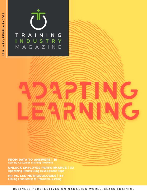 Training Industry Magazine - February 2018 Cover