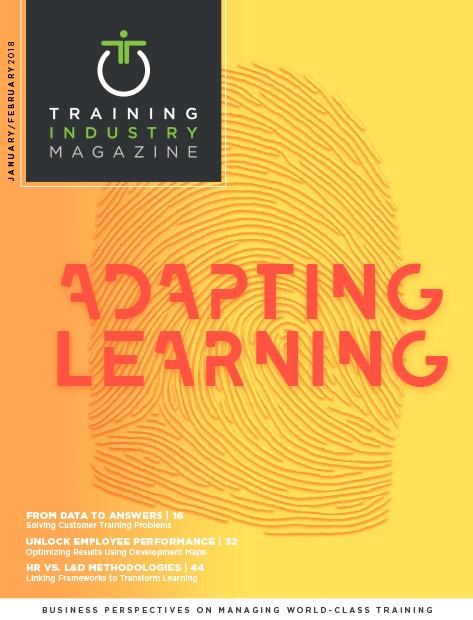 Training Industry Magazine - February 2018 Cover