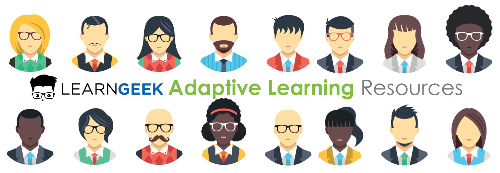 Adaptive Learning Resources title header