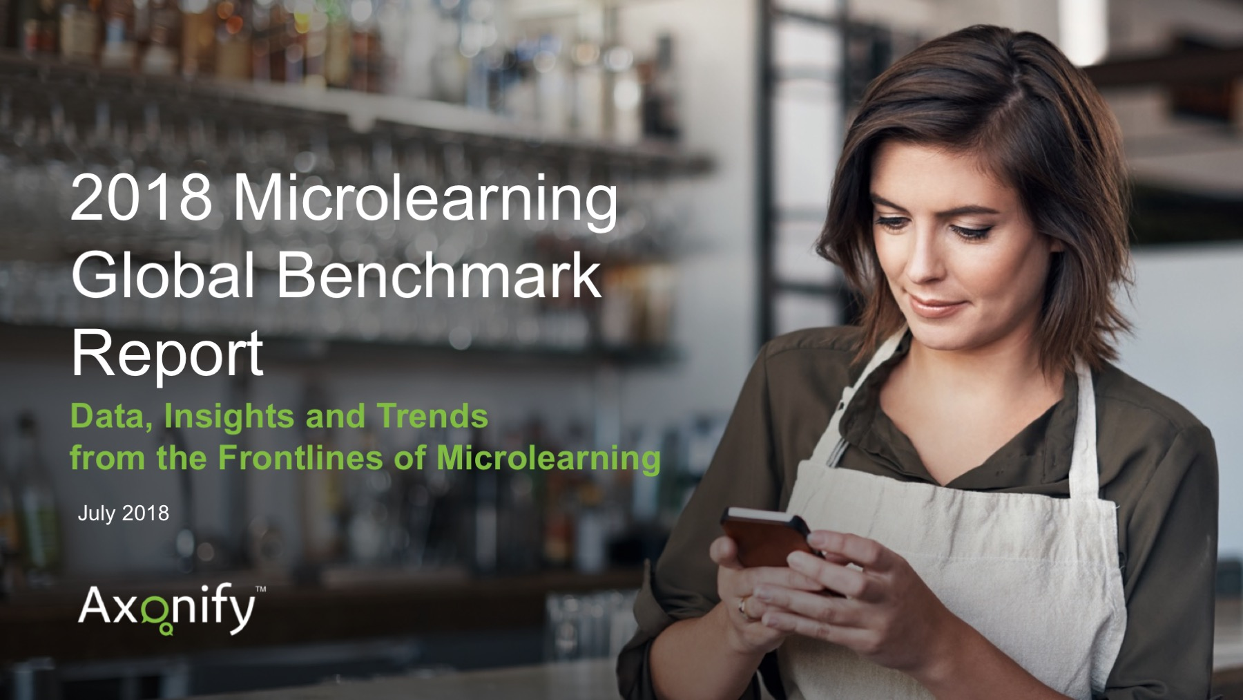 Axonify Microlearning Benchmark Report - Title